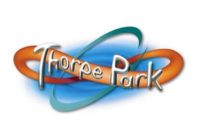 2 x THORPE PARK tickets for Tuesday 20th August 19 school holidays