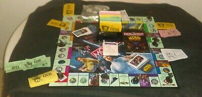 Monopoly Star Wars Saga Edition Parker Brothers Complete