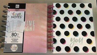 HAPPY NOTES/JOURNALS - 15 Books.  Not Used!  USA Ship ONLY