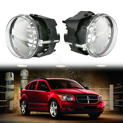 For 2011 2012 2013 2014 Dodge Avenger Fog Driving Light with Wire Harness /& Switch Pair Set Assemblies