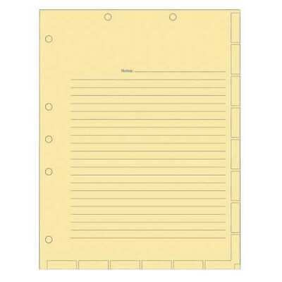 TABBIES 54519 Medical Chart Divider Sheet, Manila, PK400