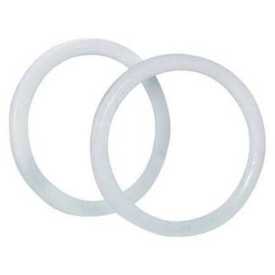 PARTNERS BRAND HAZ1082 Locking Ring for Gallon Paint Can,White,PK100