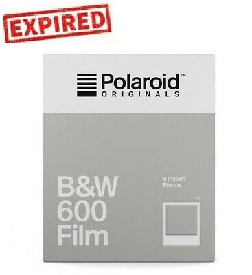 EXPIRED Polaroid Originals B&W Black & White 600 OneStep 660 636 Instant Film US