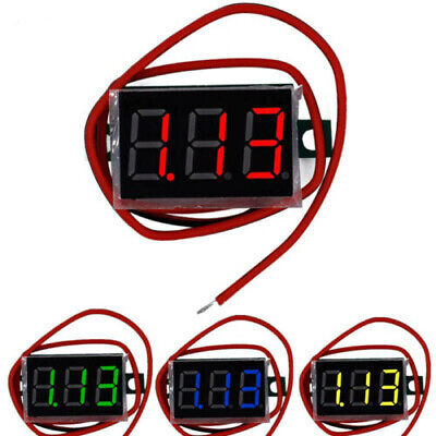 Mini DC 3.5-30V/8-16.0V/15-120V Digital Voltmeter Voltage Test Module Waterproof