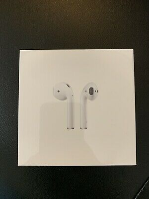 Brand New - Apple AirPods - Version 2 - Model MRXJ2AM/A Wireless Charging Case