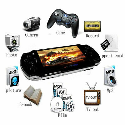 Gampad for PSP Handheld Game Console Portable 32 bit Game Support Video Audio