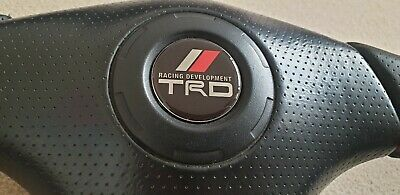 toyota trd celica, mr2, supra steering domed wheel badge roadster mrs