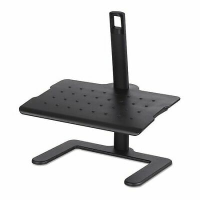 SAFCO 2129BL Footrest,Height-Adjust,Black