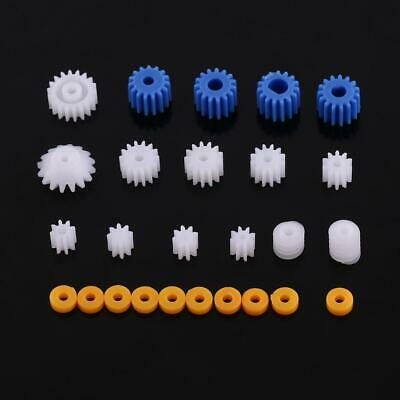 26x Plastic Spindle Worm Gear & Sleeve 2/2.3/3/3.17/4MM for Aircraft Car Model G