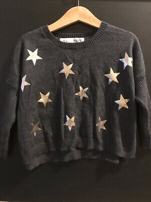 Cotton On Kids Girls Knitwear Top With Star Print Size Two