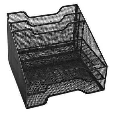 ROLODEX 1742322 Mesh Combo Sorter,5 Section,Black