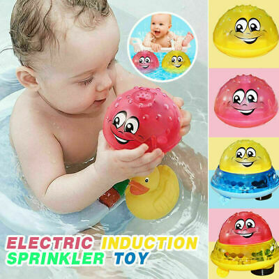 Funny Electric Induction Water Spray Toy Children Baby Bath Shower Kid Summer