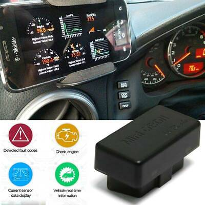 ELM327 OBDII OBD2 Bluetooth Car Diagnostic Wireless Scanner for iPhone ANDROID