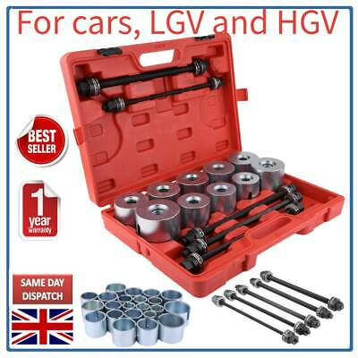 Press Pull Sleeve Kit Bush Bearing Removal Insertion Tools+Box for Cars LGV HGV