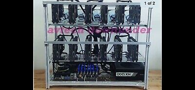 12x GPU RX570 Professionally Build Mining Rig Crypto
