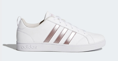 SCARPE DONNA ADIDAS VS ADVANTAGE BIANCO CASUAL SNEAKERS AW3865 stile  SUPERSTAR