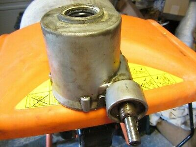 Belle Cement Mixer Gearbox Casing With Worm Shaft