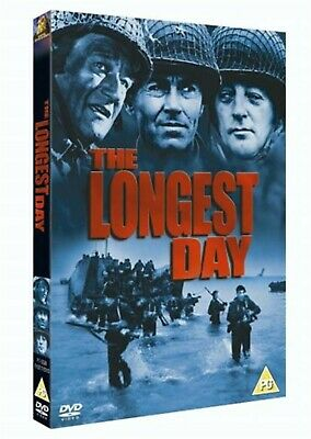 The Longest Day - Single 1962 John Wayne, Robert Ryan Brand New UK Region 2 DVD