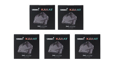 Authentic Smoant Karat Replacement Pod Cartridge (5-Pack) Black