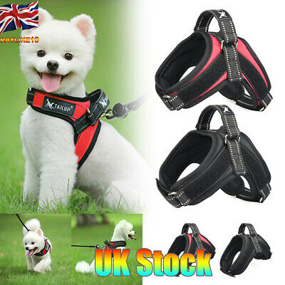 Pet Supplies Reflective Dog Collar Harness Dog Harnesses Vest Puppy Chest Strap