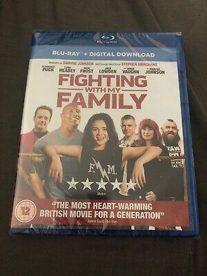 FIGHTING WITH MY FAMILY (Blu-ray + UV) (New)
