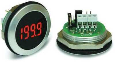 LASCAR EM32-1B-LED LED Voltmeter,Waterproof,3-1/2In.,200mV