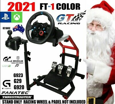 Genuine GT ART MINI Racing Simulator Steering Wheel Stand G29 G920 T300 FT-1