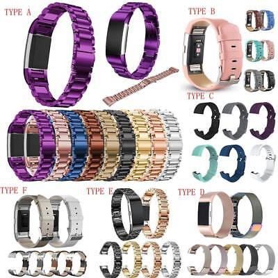 For Fitbit 2 Replacement Charge Smart Watch Strap Bracelet Wrist Band Fast