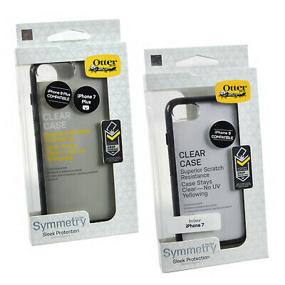 Genuine OtterBox Symmetry Rugged Clear Case Cover For iPhone 8 iPhone 7 Plus