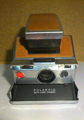 Polaroid SX-70 Vintage Land Camera Made In USA Tested