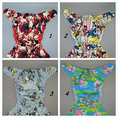 SassyCloth one size pocket cloth diaper with cotton prints (1).