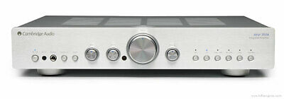 Cambridge Audio Azur 350A Integrated Stereo Amp, Silver Face