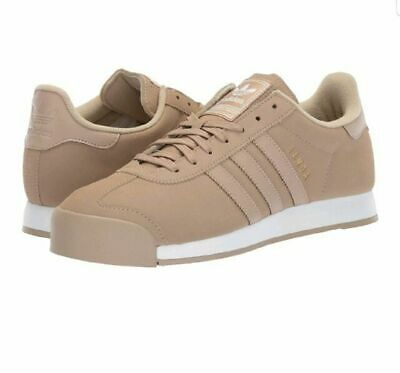 ADIDAS SAMOA SHOES Art By3515 Men's Sneakers Tan Color Size Us 8.5 New WO Box
