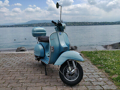 PIAGGIO Vespa PX 125 70th Anniversary Blue Limited édition