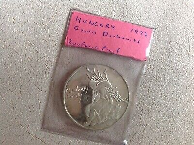 Hungary Silver Proof Coin 200  Forint 1976 Mihaly Munkacsy