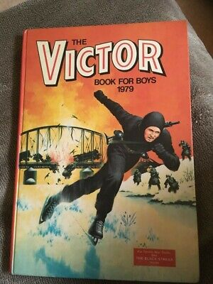 Victor Book for Boys Annual 1979 Birthday Gift Present Vintage Retro