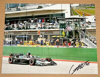 c789adb1 2019 COLTON HERTA Signed Indy Car Indianapolis 500 Steinbrenner Hero ...