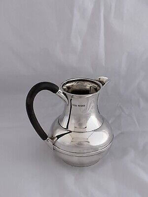 Solid Silver ART DECO Hot Milk Jug Or Cream Jug 1930 Sheffield James Dixon