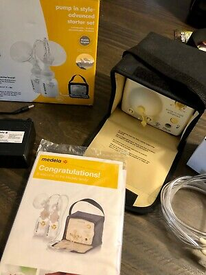 Medela_Pump In_Style Advanced with tote and accessories