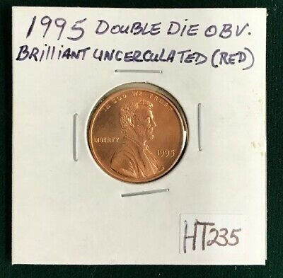 1995 Double Die Obv. Lincoln Memorial Cent MS / Mint State 68 RD, NGC 1C C43258