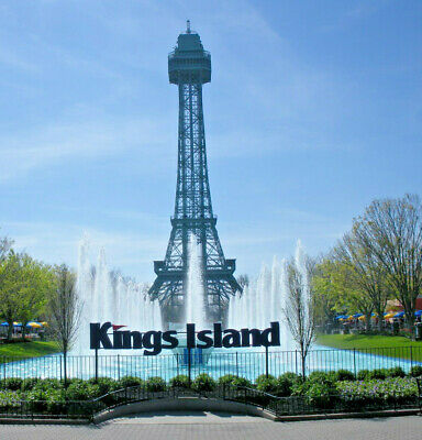 (4) Four Tickets to Kings Island / Fast Shipping / Low Price