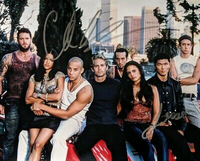 """""""The Fast and Furious""""  8x10"""" Glossy -- AUTOGRAHPED by Chad Lindberg """"Jesse""""!"""