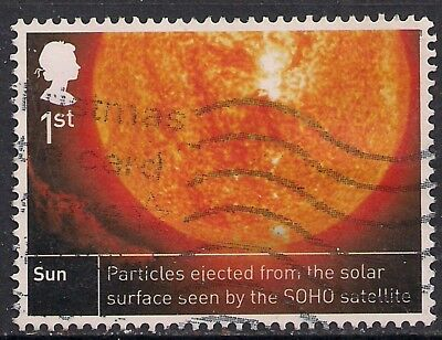 GB 2012 QE2 1st Class Space Science used stamp SG 3408 ( D1220 )