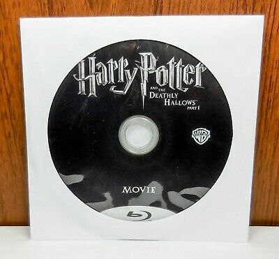 Harry Potter and the Deathly Hallows Part 1 - Discs Only (Blu Ray, 2-Disc)