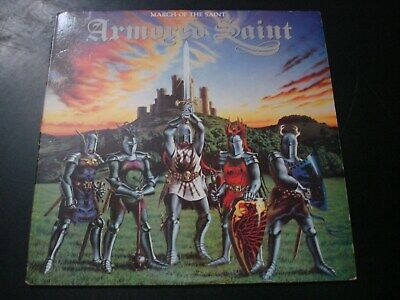 Armored Saint March Of The Saint Lp Record