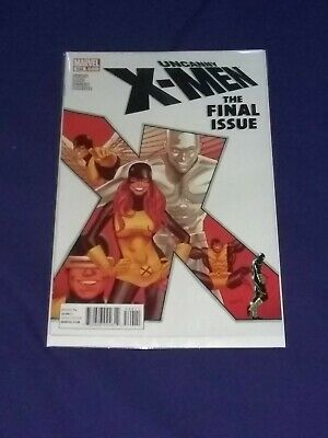 Uncanny X-Men #544 Marvel Comics 1St Print (2011) Final Issue Cyclops Iceman