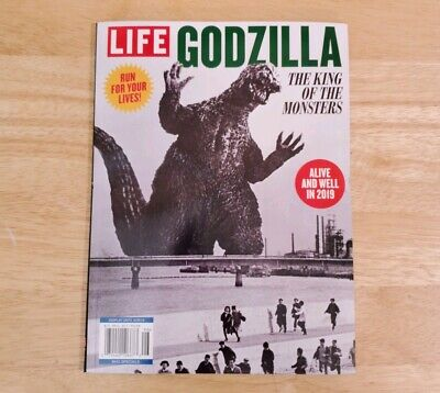 Life Magazine 2019 Run For Your Lives The King of the Monsters GODZILLA FREE SHP