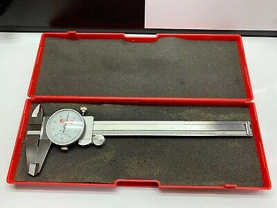 """Swiss Precision Instruments SPI 31-510-1 Shockproof Dial Caliper .001"""""""