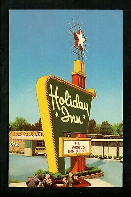 Holiday Inn Motel Hotel Postcard Georgia GA Richmond Hill Type 4