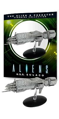 Eaglemoss Alien & Predator Figurine Collection: U.S.Sulaco Ship Replica, Mult...